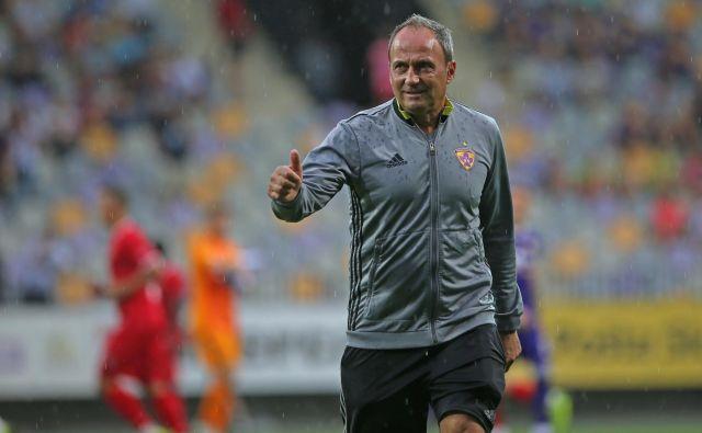 Darko Milanič je Maribor v Evropo zapisal z velikimi črkami. Z njim se je dvakrat uvrstil v evropsko ligo, enkrat pa v ligo prvakov. FOTO: Tadej Regent/Delo
