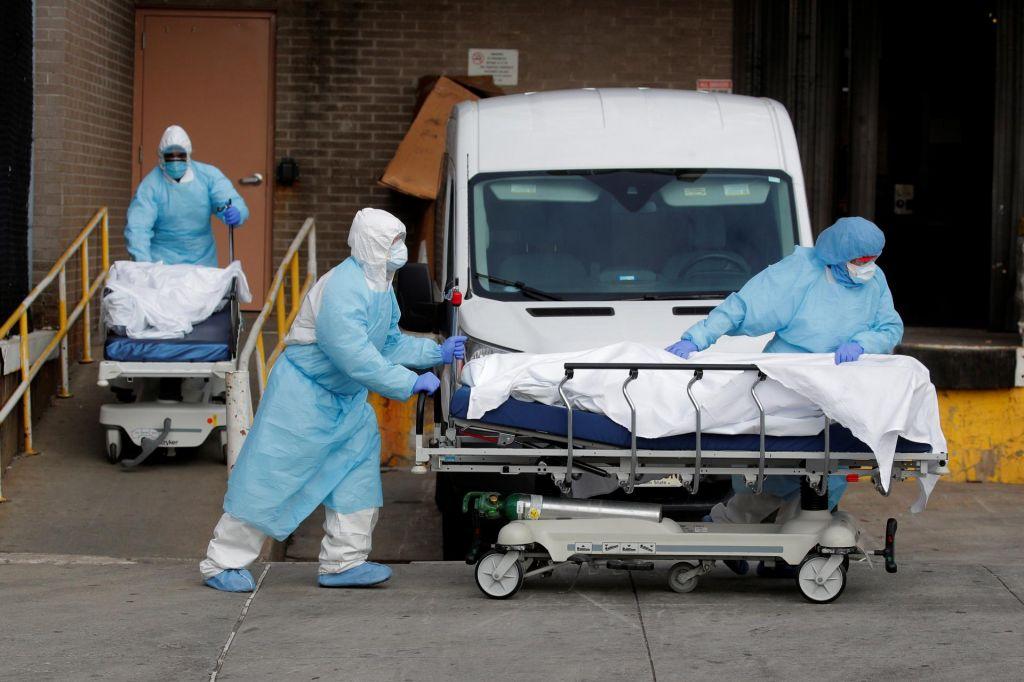 FOTO:AFP:Po svetu potrdili več kot milijon okužb z novim koronavirusom