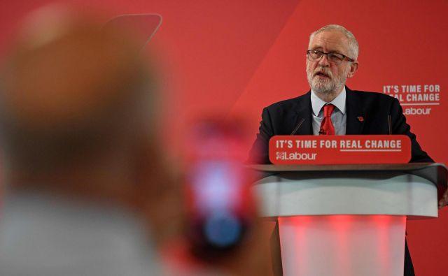 Jeremy Corbyn je pred petimi leti postal vodja britanskih laburistov. Foto: Afp