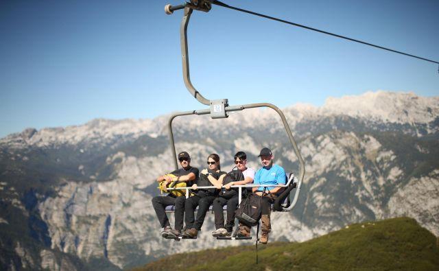 Turistična regija Julijske Alpe je lani ustvarila več kot štiri milijone prenočitev in več kot dvesto milijonov evrov prihodkov. FOTO: Foto: Jure Eržen/Delo