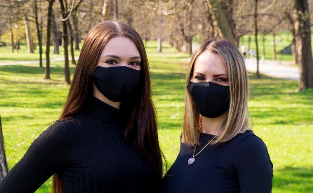 Kakovostne maske za večkratno uporabo so neprepustne. FOTO: Kovanec d. o. o.