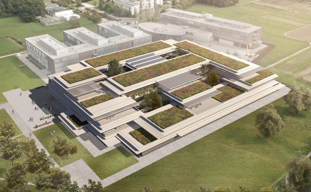 Arhitekti so si zamislili štiri ozelenjene atrije in več zelenih teras.