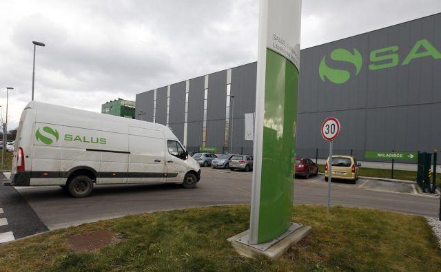 Izziv Salusa v času epidemije sta logistika in delovni čas trgovin Sanolabor. FOTO: Aleš Černivec/Delo
