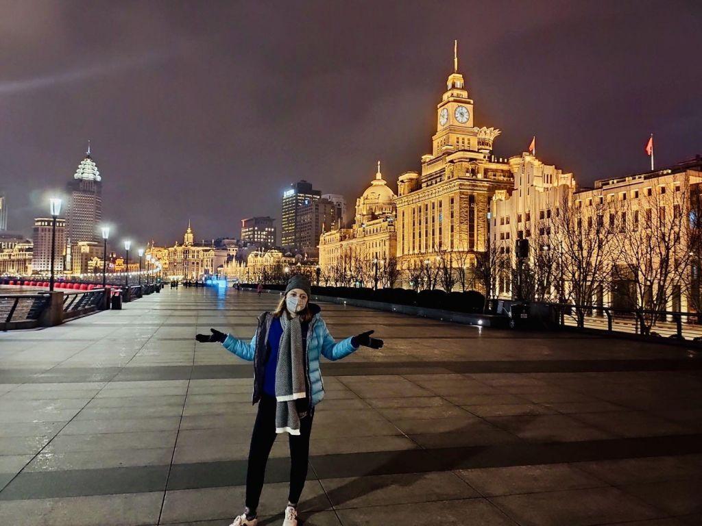 FOTO:Nika Zobec iz Šanghaja: »Življenje se vrača na ulice, a ostajamo previdni«