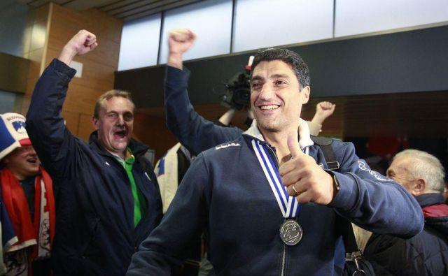 Italijan Andrea Giani je kot selektor popeljal slovenske odbojkarje do prve kolajne na velikem tekmovanju. FOTO: Delo