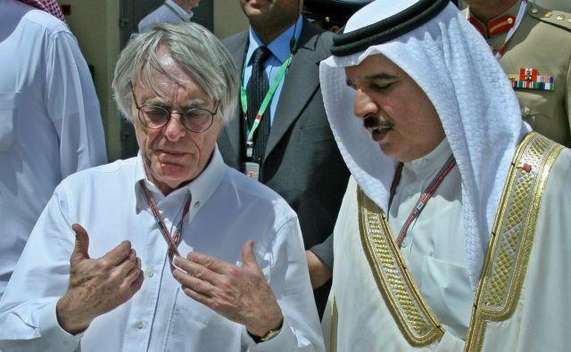 Ustvarjalec sodobne formula 1 Bernie Ecclestone (levo) je še vedno ena od največjih avtoritet, ki jo velja upoštevati. FOTO: Reuters