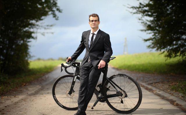 Andrej Hauptman je selektor slovenske članske kolesarske reprezentance. FOTO: Jure Eržen/Delo