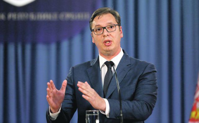 »Naslednja dva ali trije tedni bodo določili našo usodo,« je dejal predsednik Srbije <strong>Aleksandar Vučić.</strong>