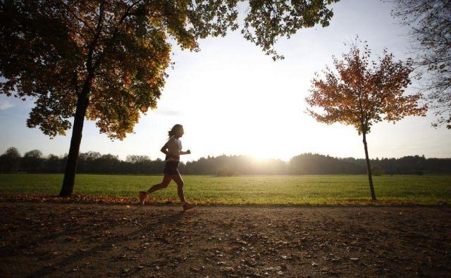 Mislim, da bi spomladi vsak tekač vsaj enkrat na teden opraviti en »trail« tek.FOTO:Roman Šipič