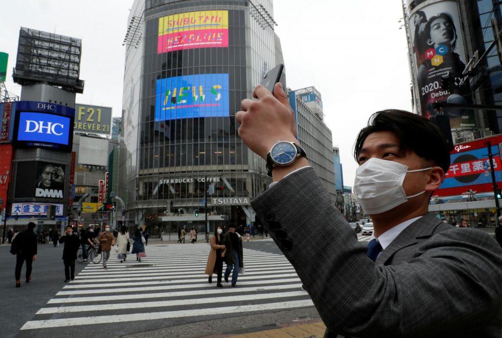 Japonska med virusom in gospodarstvom
