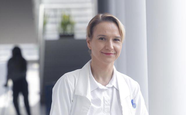 Mladi zdravniki so s Tino Bregant sodelovanje prekinili včeraj. Foto: Mavric Pivk/Delo