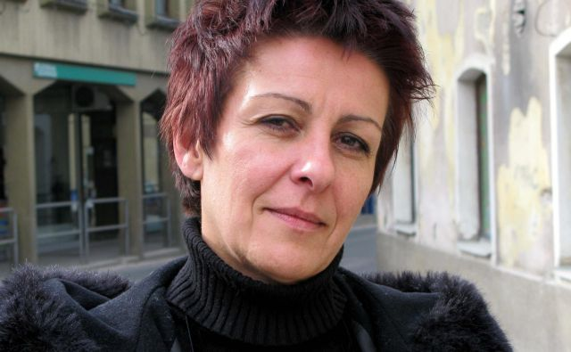 Lidija Jerkič, predsednica sindikata SKEI Slovenije, foto Ivan Praprotnik, 17. febr. 2009 / (vnesel: gradec) Foto Praprotnik Ivan