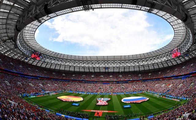 Rusi se odločno branijo obtožb, da so prišli do SP s pomočjo podkupin. FOTO: AFP