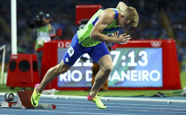Tudi Luka Janežič je računal na letošnji nastop na olimpijskih igrah v Tokiu.FOTO: Reuters