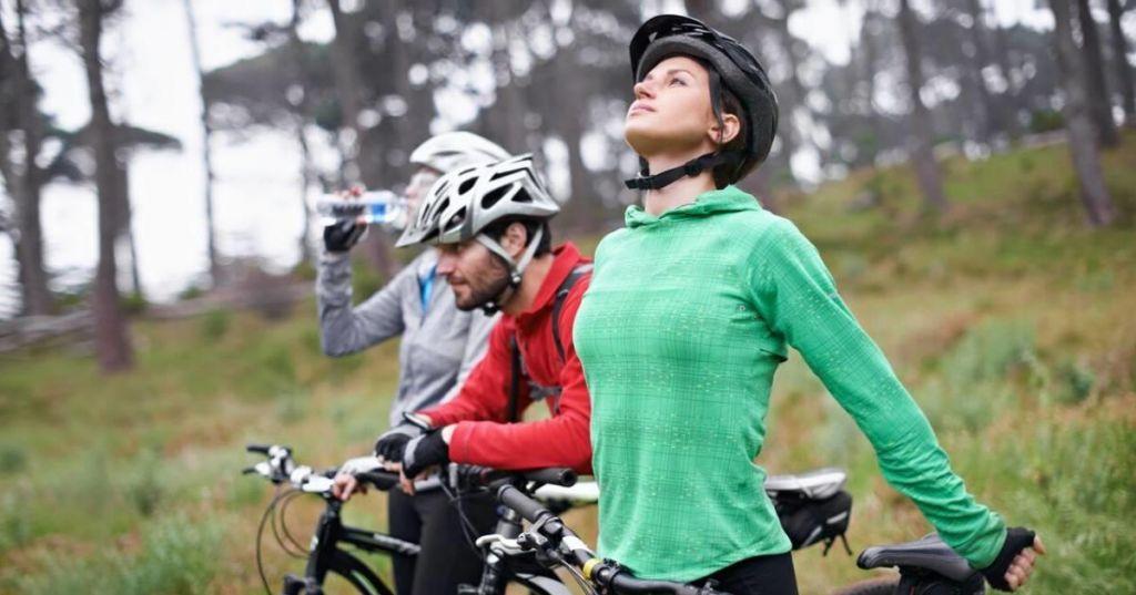 FOTO:Telovadba za kolesarje
