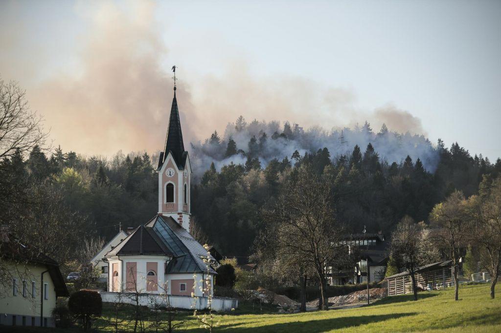 FOTO:Požarna Šentviškem hribu je pogašen