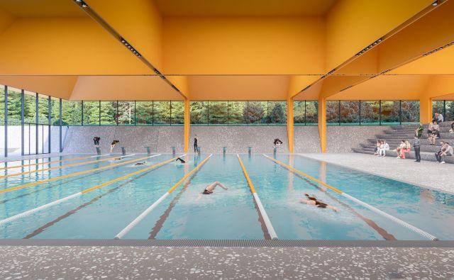 Bodoči bazen v Češči vasi. Arhiv MO NM