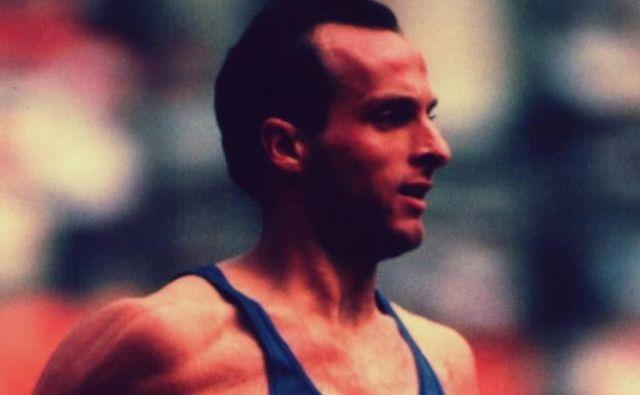 Donato Sabia je bil v osemdesetih letih prejšnjega stoletja eden od najboljših tekačev na srednjih progah. FOTO: Atletica Italiana