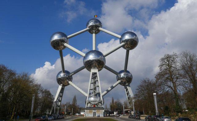 Prelom je prinesel expo leta 1958 v Bruslju, ki je bil posvečen napredku in človeštvu, glavni paviljon in ikona Atomium pa je ostal velika turistična znamenitost mesta. Foto Reuters Reuters