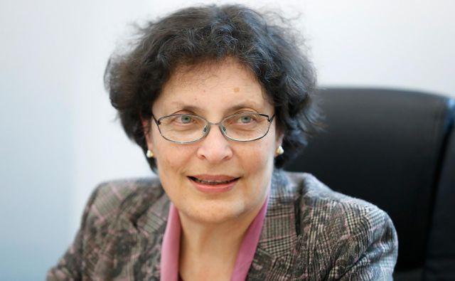 Dr. Zdenka Čebašek - Travnik, predsednica Zdravniške zbornice Slovenije. FOTO: Uroš Hočevar/Delo