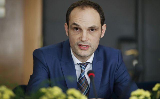 Zunanji minister Anže Logar z vsebino depeše ni bil predhodno seznanjen. FOTO: Leon Vidic/Delo