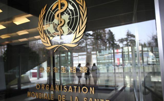 Svetovna zdravstvena organizacija s sedežem v Ženevi je že več mesecev pod drobnogledom svetovne javnosti. Foto Reuters
