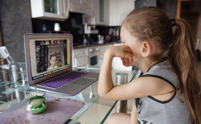 aplikacija Zoom šolarji FOTO: Shutterstock