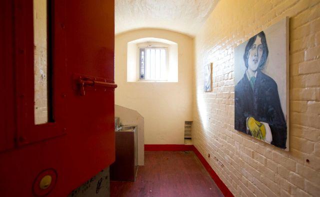 Nekdanja celica Oscarja Wilda je skoraj avtentična, razlika je le v opremi.<br /> Foto AFP