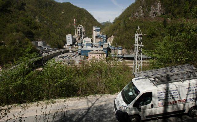 LafargeHolcim potrebuje material za rekultivacijo kamnoloma. Foto: JURE ERZEN/Delo