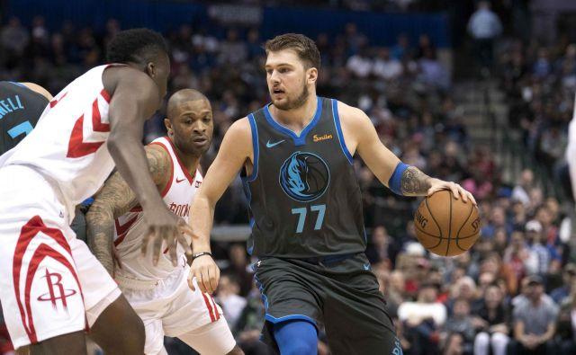 Luka Dončić si tako kot vsi košarkarji v NBA želi čimprej na igrišče. FOTO: USA Today Sports