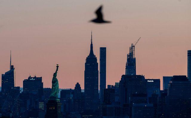 Manhattan se prebuja. Foto Johannes Eisele Afp
