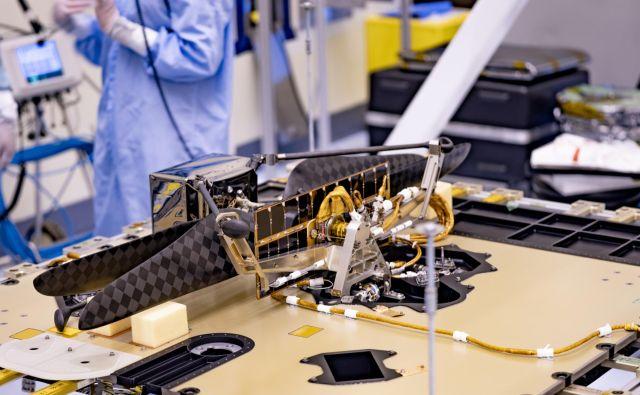 Helikopter bo predvidoma poletel maja prihodnje leto. FOTO: NASA/JPL-Caltech