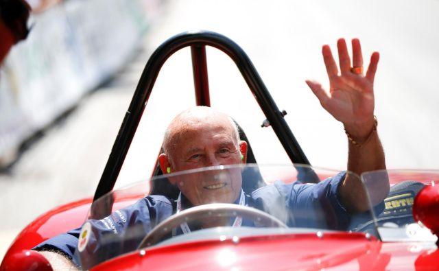 Stirling Moss se je poslovil. FOTO: Reuters