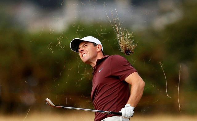 Rory McIlroy računa, da bi lahko dosegel karierni veliki slam. FOTO: Reuters