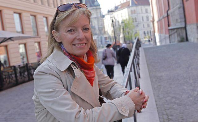 Dr. Saša Novak Krmpotič je leta 2013 dobila Zoisovo priznanje za znanstvene dosežke na področju fuzijskih materialov. Foto Tomi Lombar