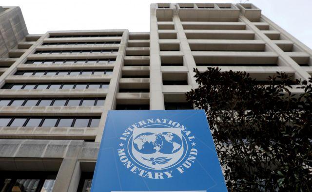 Tiskovna konferenca Mednarodnega denarnega sklada je potekala ob izdaji novega poročila projekcij rasti gospodarstev za leti 2020 in 2021. Napovedi za evroobmočje so vse prej kot spodbudne. FOTO: Reuters