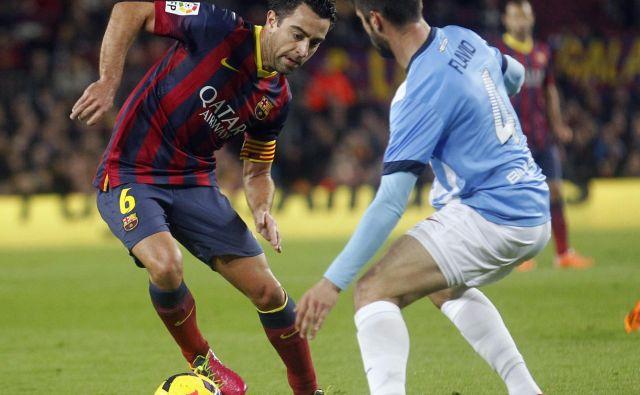 Xavier Hernandez Creus je ikona Barcelonine slavne nogometne zgodovine. FOTO: Reuters