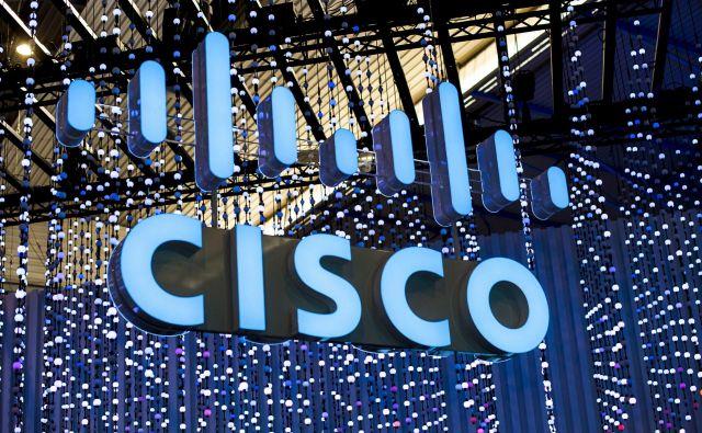 Podjetje kupcem zdaj financira za 9,6 milijarde dolarjev naložb. FOTO: Cisco