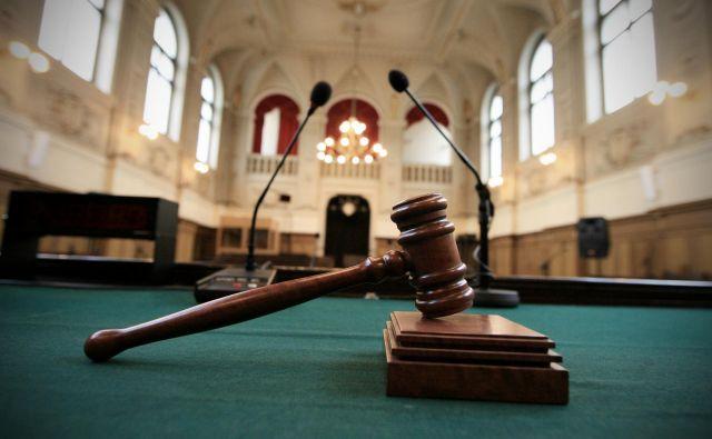Na vrhovnem sodišču pravijo, da je omejitev poslovanja v tako veliki meri pomembna zaradi zdravja sodnikov in sodnega osebja kot tudi strank v postopkih. Foto Uroš Hočevar