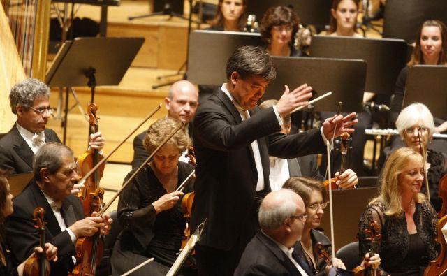 Newyorški filharmoniki v ljubljanskem Cankarjevem domu. FOTO: Blaž Samec/Delo