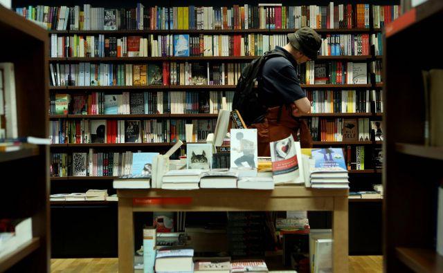 Ogroženo ni le založništvo, ampak tudi knjigarne. Foto Uroš Hočevar