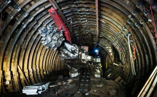 Napoved posedanja terena zaradi rudarjenja do konca odkopavanja ne kaže vpliva na območje, čez katerega bo potekala tretja razvojna os. FOTO: Premogovnik Velenje