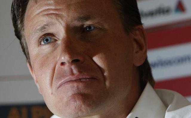 Če ne bi verjel vase, Urs Lehmann sploh ne bi kandidiral za predsednika FIS. FOTO: Reuters