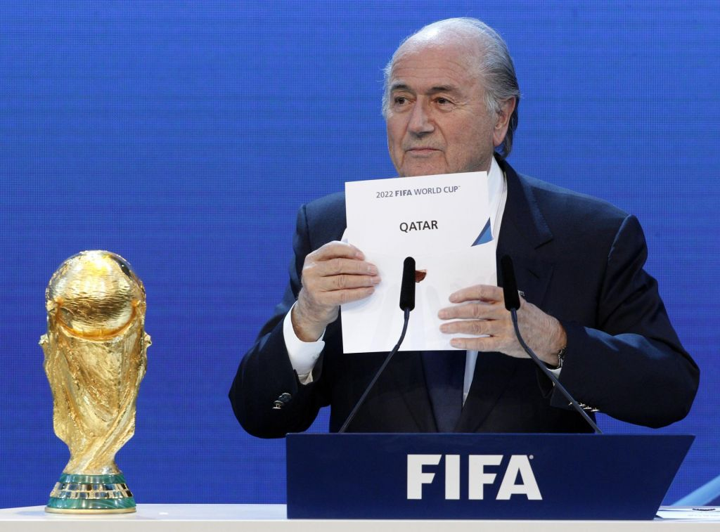 Blatter bi ZDA nadomestil s Katarjem