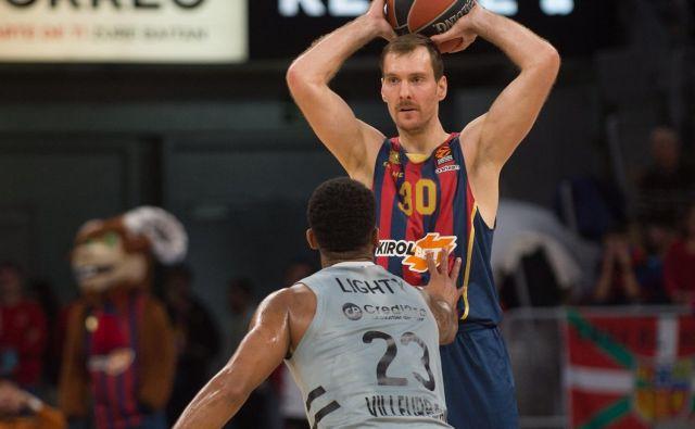 Zoran Dragić nestrpno čaka, kdaj bo lahko znova oblekel dres španske Baskonie v evroligi. FOTO: Euroleague
