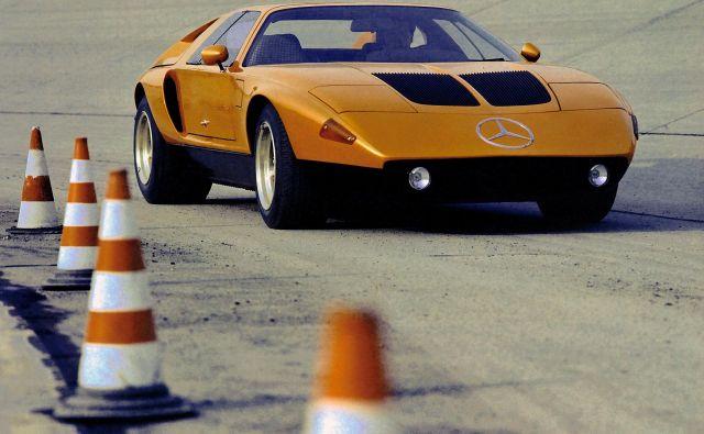 Mercedes C111 je bil fascinantni študijski avtomobil.