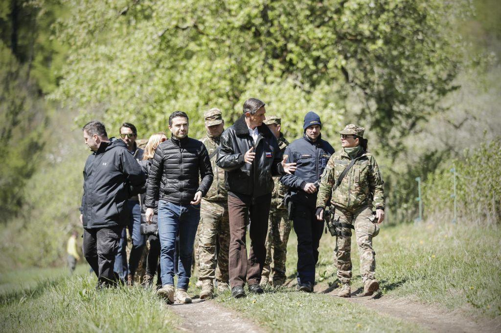 FOTO:Pahor: Morali bi veljati za zgled, to včeraj nismo bili