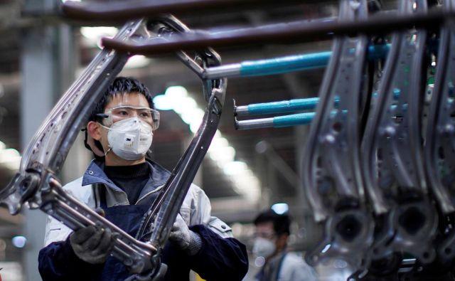 Noben kitajski proizvodni obrat ne dela z več kot 70 odstotki zmogljivosti. Foto Reuters