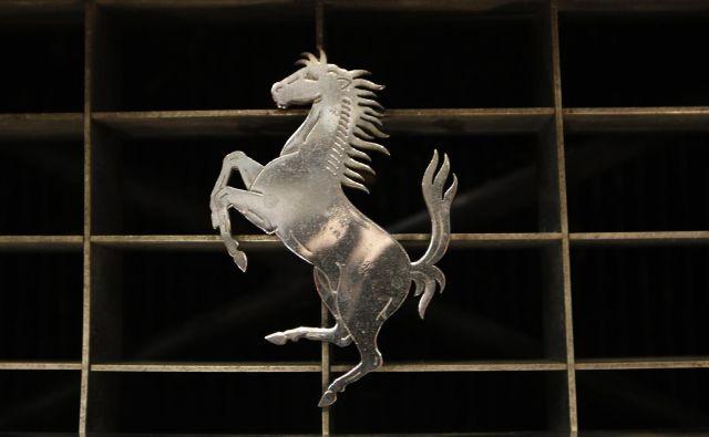 Ferrarijev zaščitni znak je znan po vsem svetu. FOTO: Reuters