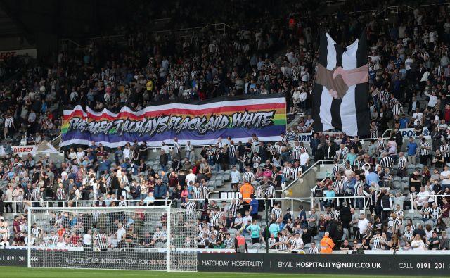 Newcastle United je klub s 127-letno tradicijo, ki leži v mestu Newcastle manj kot 100 km od angleško-škotske meje. FOTO: Reuters
